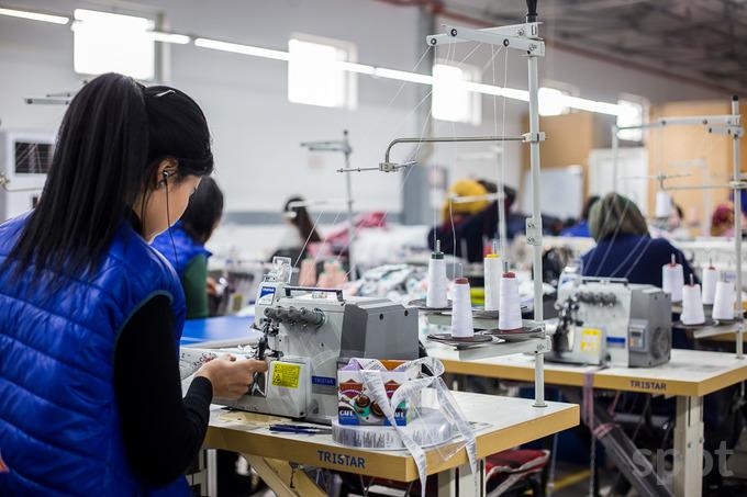 Coton ouzbekistan machines employés