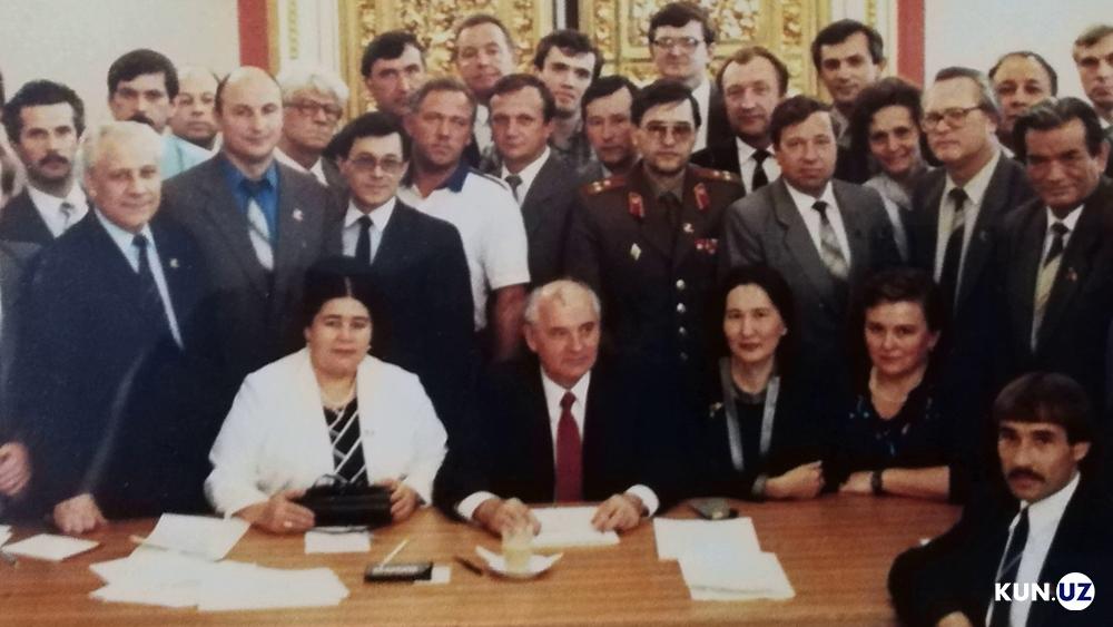 Rimajon Khoudoyberganova Ouzbékistan Gorbatchev URSS