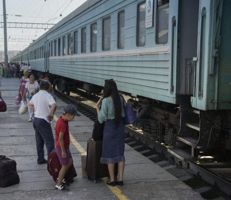 Chimkent Kazakhstan gare