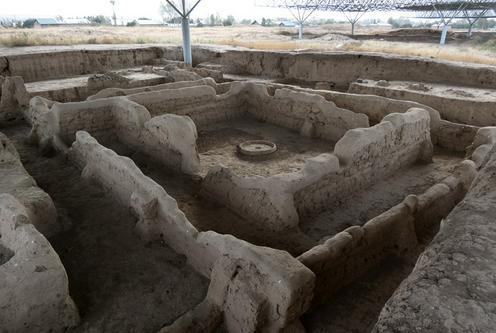 Sarazm Tadjikistan Archéologie Antiquité 5500 ans anniversaire