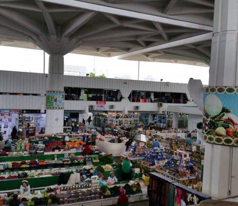Turkménistan Achgabat Architecture Marché Bazar