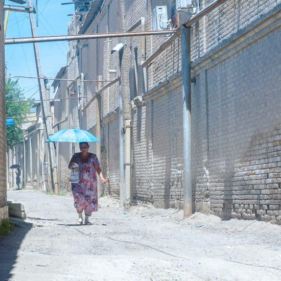 Ouzbékistan Boukhara été chaleur chilla