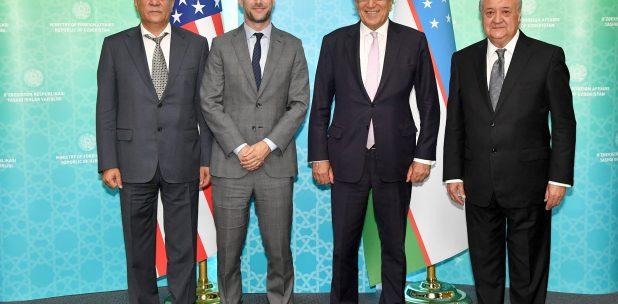 Etats-Unis Ouzbékistan Afghanistan Alliance Diplomatie Stratégie