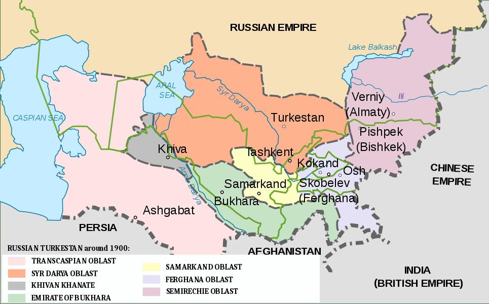 Asie centrale Opium Drogue histoire Conflits Turkestan