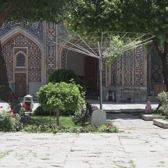 Madrasa Ouzbékistan Samarcande