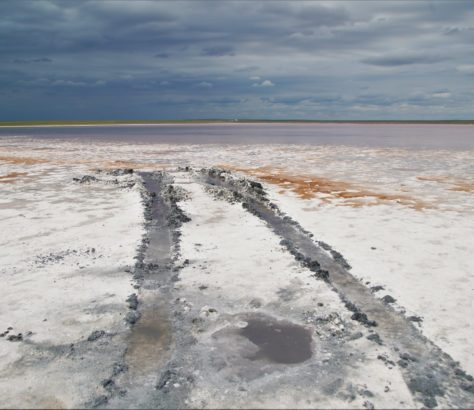 Lac Kobeïtouz Kazakhstan Destruction Environnement Rose Pollution