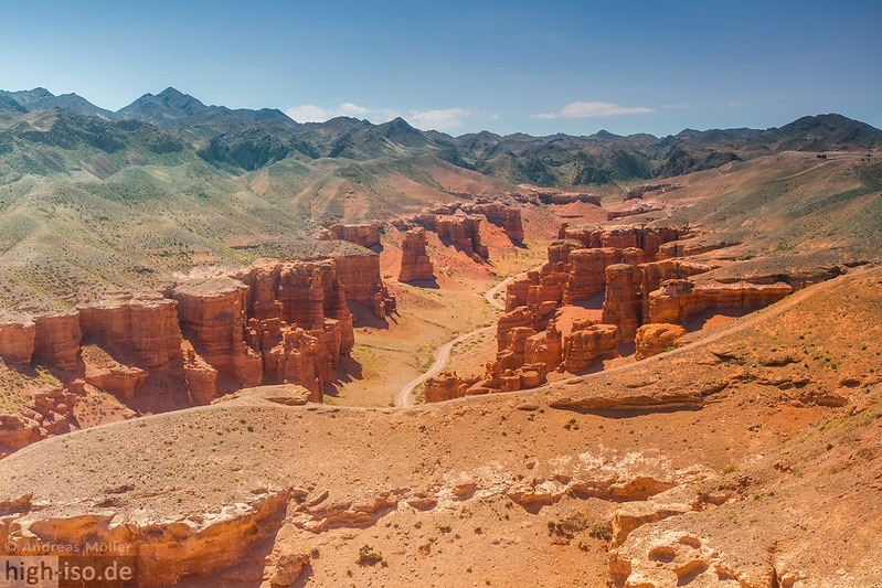 Kazakhstan Charyn Canyon Environnement Tourisme Montagnes Société