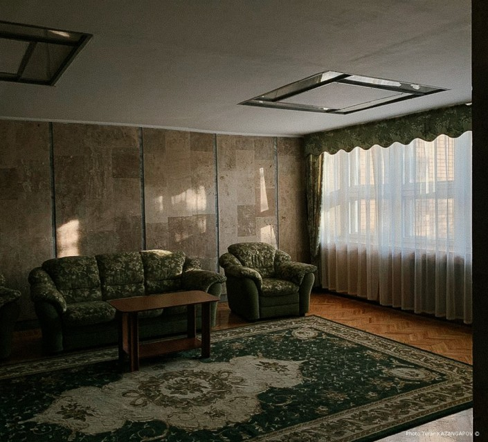 mobilier, hôtel, Kazakhstan, Kourtchatov