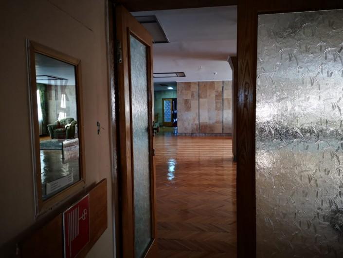 Couloir, hôtel, Kazakhstan, Kourtchatov