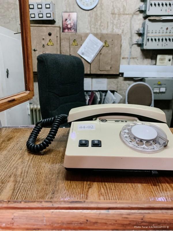 Appareil téléphone fixe, Kourtchatov