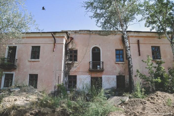 Bâtiment, Kazakhstan, Kourtchatov