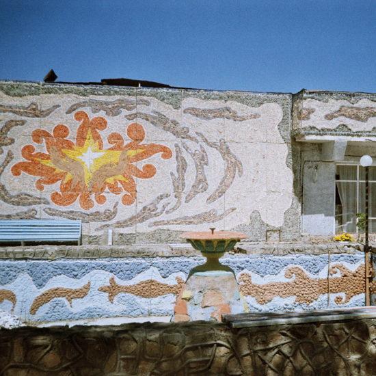 Kirghizstan Issyk-Koul Architecture mosaïques Union soviétique