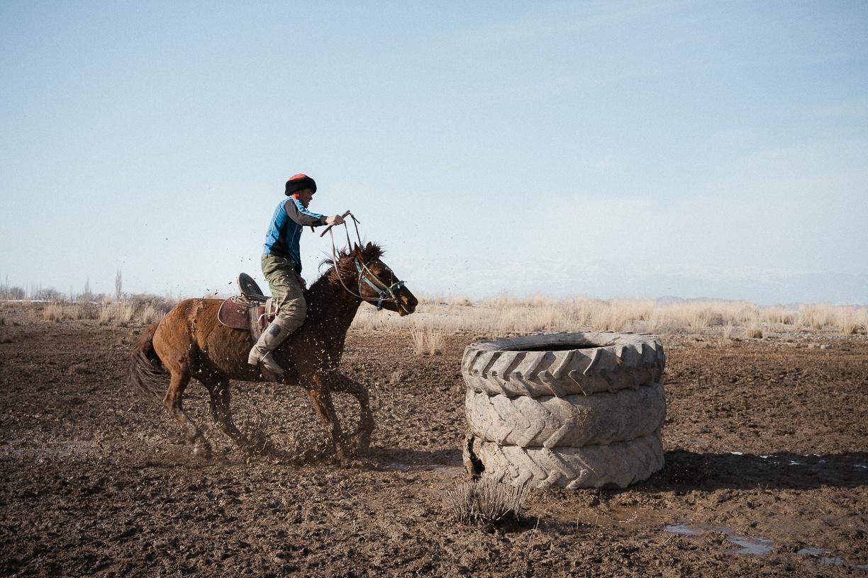 Kirghizstan Naryn Kok-boru Théo Saffroy Jeux équestres