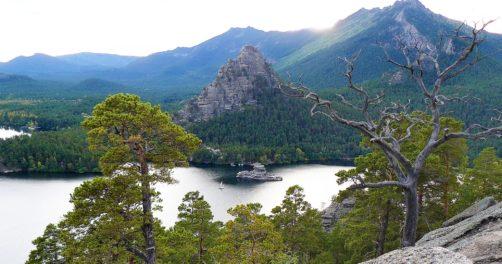 Lac de Bourabay Nord Kazakhstan