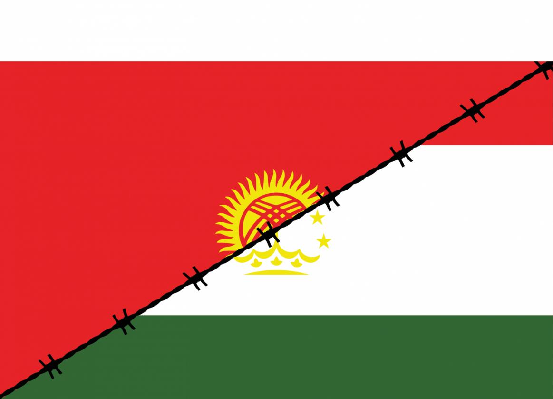 Kirghizstan Tadjikistan Frontières Affrontement Incident