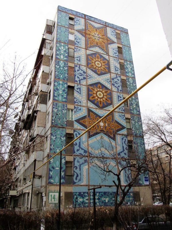 Ouzbékistan Tachkent Mosaïques Jarski Art Patrimoine Culture