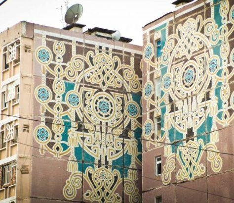 Mosaïques Culture Ouzbékistan Tachkent Patrimoine Jarski Art