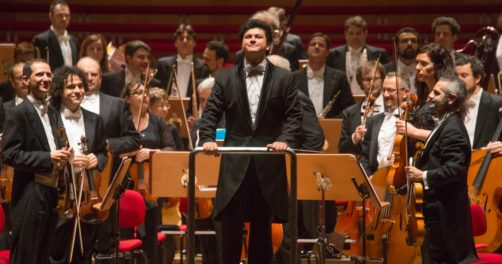 Aziz Chokhakimov Ouzbékistan France chef d'orchestre nomination Strasbourg Orchestre philarmonique