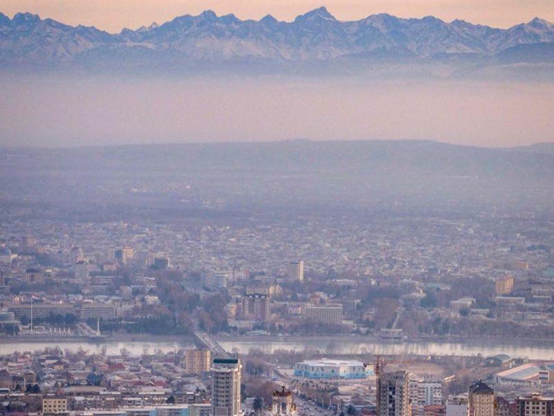 Khoudjand Tadjikistan Montagnes