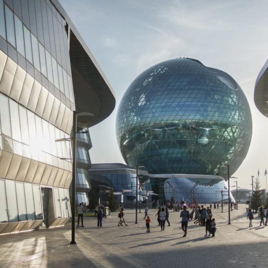 Kazakhstan Expo 2017 Astana Nur-Sultan Architecture Nur Alem