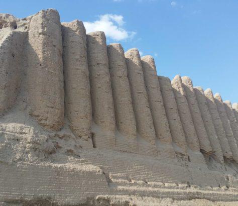 Turkménistan Merv Forteresse Architecture