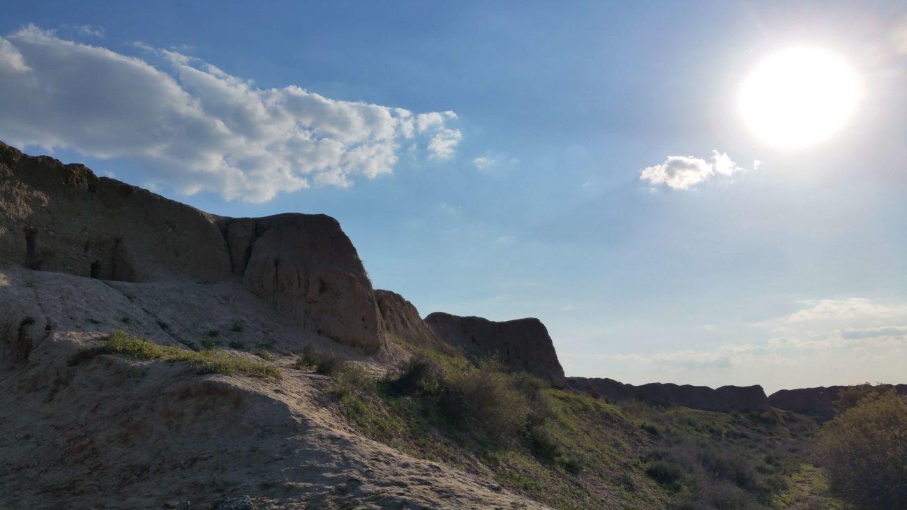 Turkménistan désert Merv