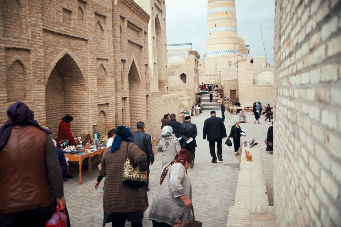 Tourisme Khiva Ouzbékistan Itchan-Kala