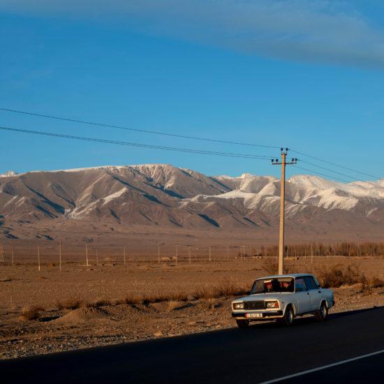 Photo du Jour Kirghizistan Paysage Route