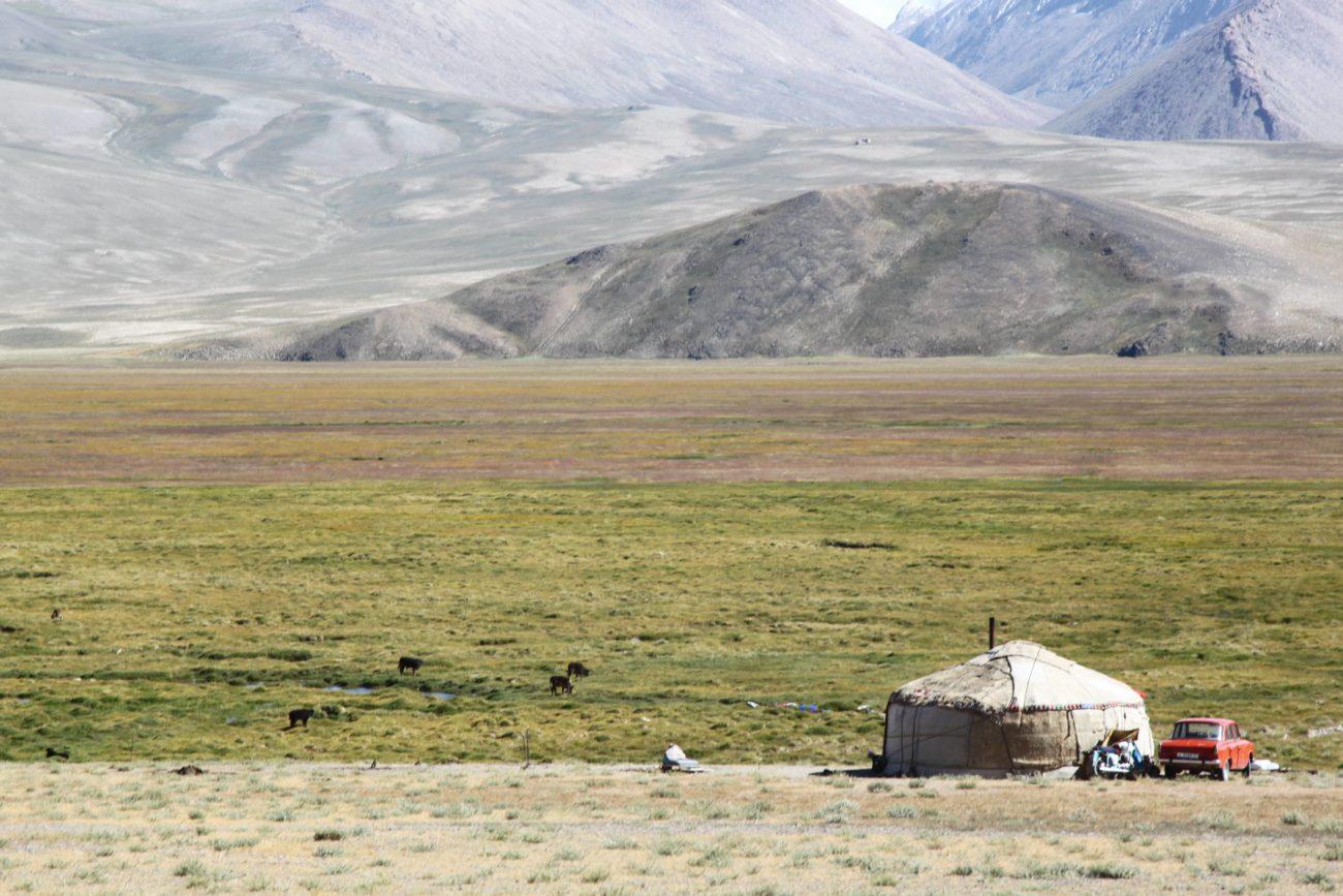 Tadjikistan Pamir Montagnes Yourte