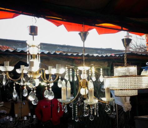 Ouzbékistan Tachkent Bazar Meubles Lustre Stanislav Magay