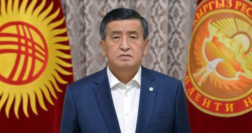 Sooronbaï Jeenbekov Président démission Kirghizstan