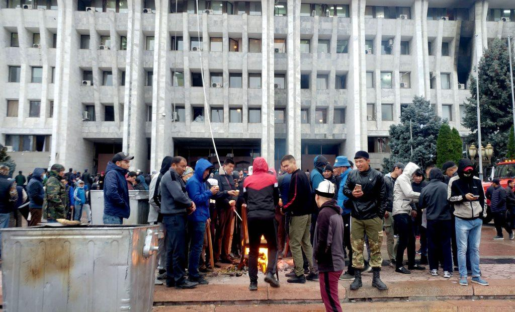 Kirghizstan élections législatives Violences Maison Blanche Politique