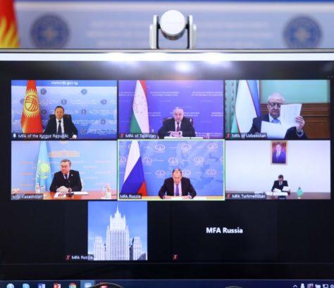 Russie Diplomatie Asie centrale Rencontre C5+1 Stratégie Influence