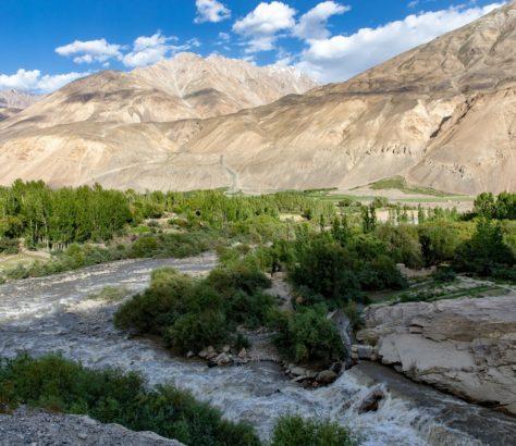Piandj Amou-Daria Environnement Afghanistan Tadjikistan Accord