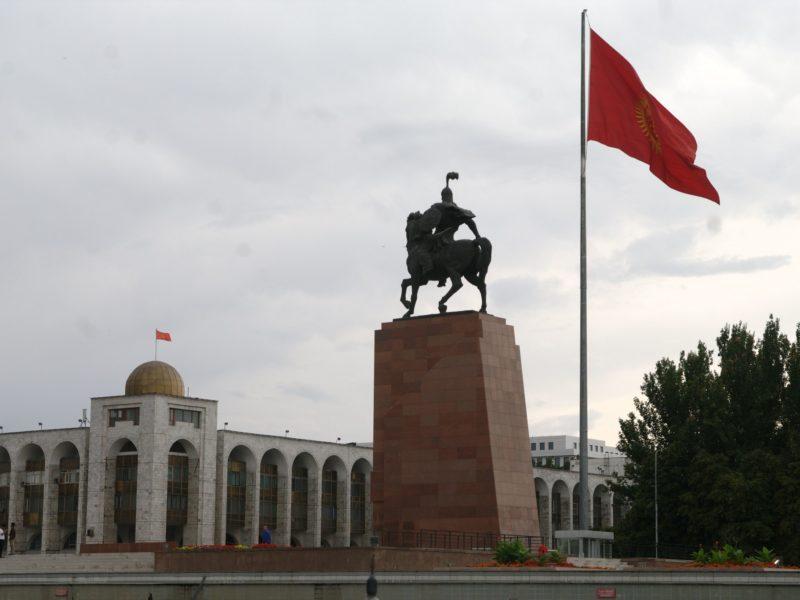 Kirghizstan Politique Asie centrale Révolution réactions Diplomatie Relations internationales