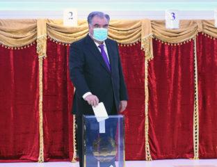 Emomalii Rahmon Président Tadjikistan Présidentielle Mandat