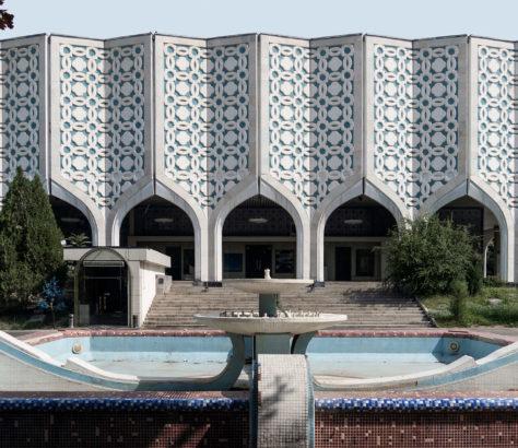 Musée Tachkent Ouzbékistan salle d'exposition centrale de l'Académie des Arts