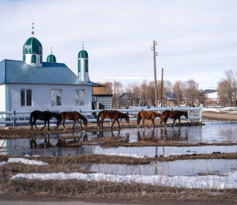 Photo du Jour Mosquée Village Kirghizstan