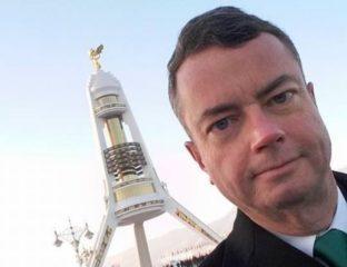 Ambassadeur de France Turkménistan Départ fête