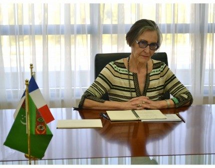 Isabelle Guisnel France Turkménistan Ambassade Diplomatie