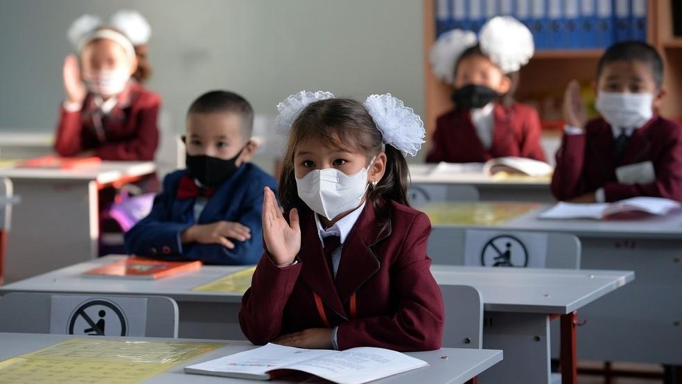 Asie centrale Tadjikistan Kazakhstan Kirghizstan Education Ouzbékistan Rentrée Coronavirus Covid-19