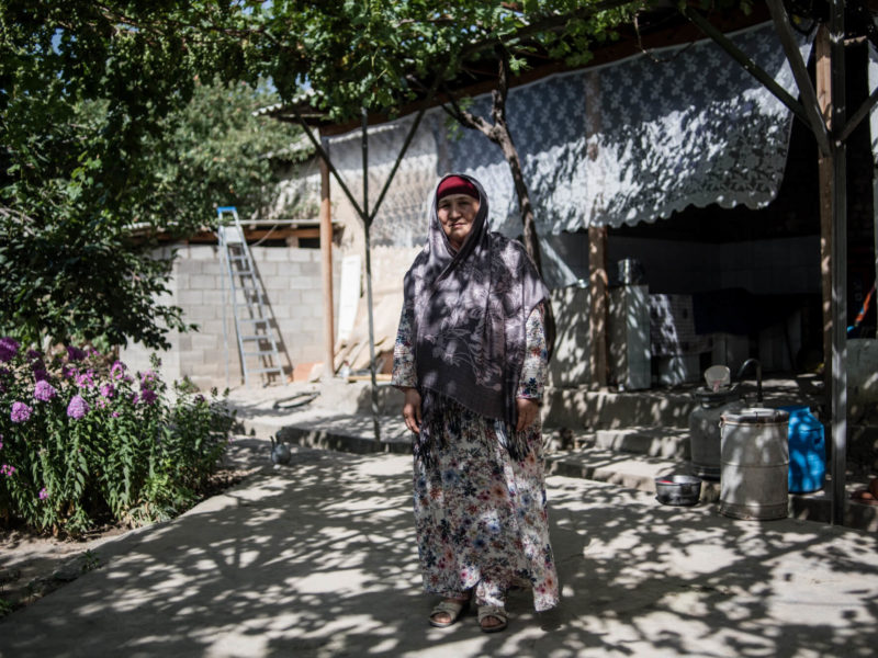 Kirghizstan Aravan Mutakalim Portrait Danil Usmanov