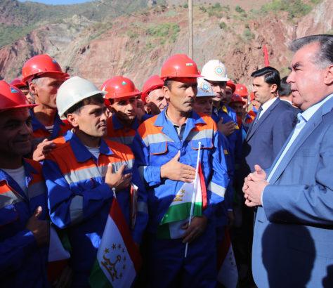 Rogun Tadjikistan Financement Prêt Construction Energie