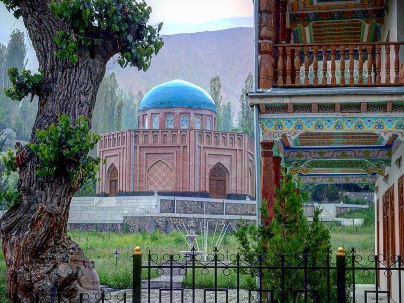 tadjikistan Pendjikent roudaki poète célèbre