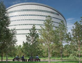 Nur-Sultan Kazakhstan Arbre Ceinture Verte Plantation Environnement