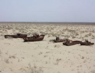 Ouzbekistan Mer d'Aral Environnement