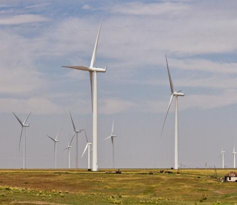 Energie Eolienne Vent Kazakhstan Energies renouvelables Centrale Asie centrale