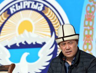 Sadyr Japarov Kirghizstan Président par intérim Premier ministre Promesses politique