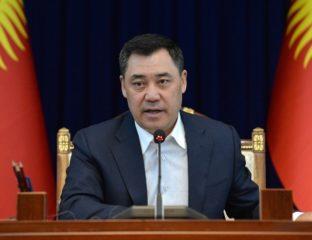 Sadyr Japarov Relations internationales Kirghizstan Diplomatie