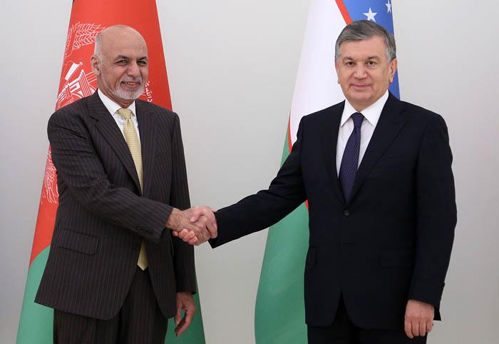 Shavkat Mirzioiev Ashraf Ghani Ouzbékistan Afghanistan
